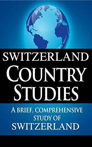 SWITZERLAND Country Studies: a short, comprehensive research of Switzerla... - switzerland country studies a brief comprehensive study of switzerla