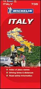 Michelin Map No. 735 Italy Switzerland - michelin map no 735 italy switzerland 138x300