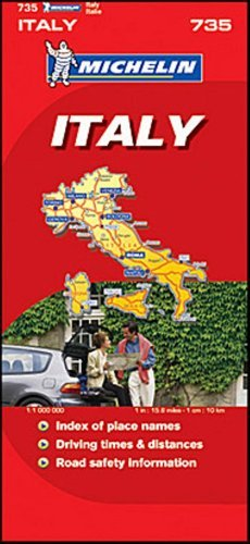 Michelin Map No. 735 Italy Switzerland - michelin map no 735 italy switzerland
