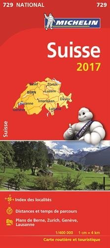 Carte Nationale 729 Suisse 2017 [ National Map Switzerland ] (French E... - carte nationale 729 suisse 2017 national map switzerland french e