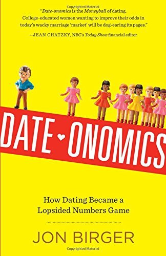 """Date-onomics: just how Dating Became a Numbers that is lopsided Game************************) <DIV><P>It's not that he's just not that into you—it's that there aren't enough of him. And the true figures prove it. Making use of a mix of demographics, data, game concept, and number-crunching, <I>Date-onomics</I> informs exactly what each and every, college-educated, heterosexual, looking-for-a-partner girl has to understand: The """"man deficit"""" is genuine. It's a remarkable, if sobering read, with two takeaways that are critical One, it's not you. Two, knowledge is power, so here's what to do about it.<BR />  <BR /> The shortage of college-educated men is not just a phenomenon that is big-city feamales in ny and L.A. Among young university grads, you can find four women that are eligible every three men nationwide. This ratio that is unequal not merely why it is so difficult to get a night out together, but a bunch of social dilemmas, through the university hookup tradition to your explanation Salt Lake City has become the breast implant money of America. Then there's the mathematics that states that a woman's looks that are good keep men from approaching her—particularly if they feel the odds aren't in their favor.<BR /><BR /> Fortunately, there are also solutions: what college to attend (any with strong sciences or math), where to hang out (in New York, try a fireman's bar), where to live (Colorado, Seattle, """"Man"""" Jose), and why never to shy away from giving an ultimatum.<BR /> </P></DIV><BR />Date Onomics How Dating Became a Numbers that is lopsided Game <h2 style=""""text-align: center;"""">Get """"Date-onomics: exactly how Dating Became a Numbers that is lopsided Game by Jon Birger</h2> <a href=""""https://www.amazon.com/Date-onomics-Dating-Became-Lopsided-Numbers/dp/076118208X?SubscriptionId=AKIAIXH37JZOQ72XPSKA&tag=makebigmone-20&linkCode=xm2&camp=2025&creative=165953&creativeASIN=076118208X"""" target=""""_blank"""" rel=""""nofollow external noopener""""><img class=""""aligncenter"""" title=""""Da"""