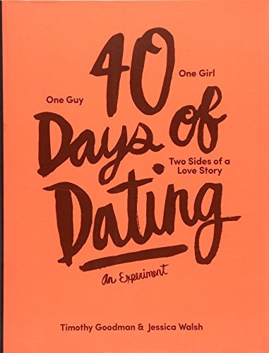 dating for 40 days blog Hear horrific dating tales from the 40 days of dating bloggers new yorkers jessica walsh and timothy goodman of the experimental dating project–blog.
