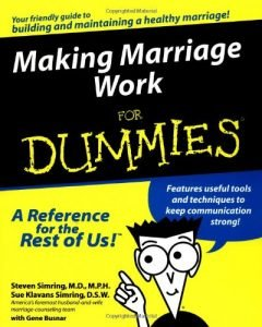 Making wedding work with Dummies - making marriage work for dummies 240x300