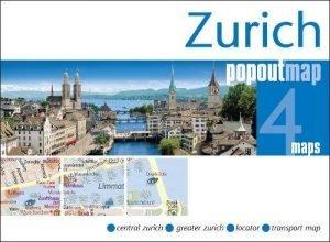 Zurich PopOut Map (PopOut Maps) - zurich popout map popout maps 300x220