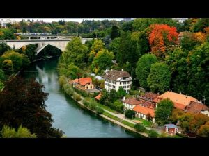 Gorgeous Panorama Of Basel City Switzerland. - beautiful views of basel city switzerland 300x225