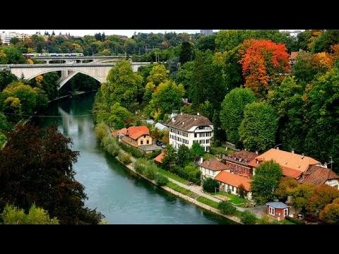 Gorgeous Panorama Of Basel City Switzerland. - beautiful views of basel city switzerland