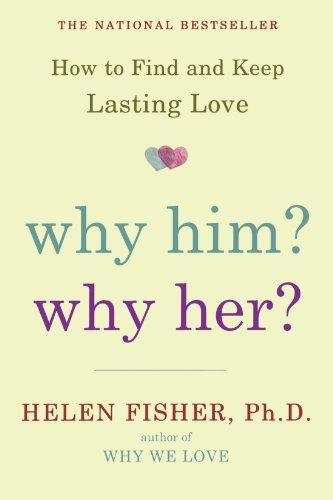 """Why Him? Why Her?: where to find and keep love that is lasting*********************) <p><b>The national bestseller that shows you how a better understanding of who you are will help you find and keep the love you want</b></p><p>Helen Fisher can often tell, almost instantly, the hidden strengths and weaknesses in a relationship that are likely to keep a couple together or pull them apart. The words they choose, their structure that is facial and language, also their doodles and where they reside provide strong clues with their character kind. After three years of learning intimate relationships, Fisher has unearthed that your personality that is dominant type not only who you are but who you love. </p><p><i>Why Him? Why Her?</i> provides a way that is new realize relationships, whether you are trying to find one or desperate to fortify the one you've got. Starting with a scientifically developed questionnaire to find out your personality that is prevailing type Fisher tells you not only what type of person you might have chemistry with but how to find them, attract them, and keep them. Once the personality is known by you profile associated with the partner you are with―or desire to find―you may use your understanding of just how your kinds match to boost your love life. </p><p>More than seven million individuals in forty nations have discovered Fisher's practices and generally are making use of these tools in order to make and keep enduring connections that are romantic. Based on proven results, this groundbreaking book goes beyond theory to show that the complex nature of romance isn't so complicated yourself and others once you truly understand. Provocative and illuminating, Fisher's guide has a right to be read by every person trying to be liked for whom they are really.</p>Holt McDougal<div style=""""text-align: center;""""> <h2>Get """"Why Him? Why Her?: where to find and Keep Lasting Love"""" by Helen Fisher</h2> <a href=""""https://www.amazon.com/Why-Him-Her-Find-Lasting/dp"""