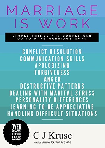 WEDDING IS WORK: Conflict Resolution, Correspondence Techniques, Working W... - marriage is work conflict resolution communication skills dealing w