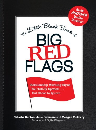 The small Ebony Book of Big Red Flags: Relationship indicators You... - the little black book of big red flags relationship warning signs you