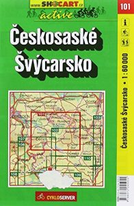 Czech Switzerland - Ceskosaske Svycarsko (Czech Republic) 1:60,000 Cyc... - Czech Switzerland Ceskosaske Svycarsko Czech Republic 160000 Cyc 196x300