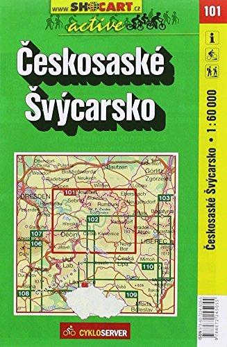 Czech Switzerland - Ceskosaske Svycarsko (Czech Republic) 1:60,000 Cyc... - Czech Switzerland Ceskosaske Svycarsko Czech Republic 160000 Cyc