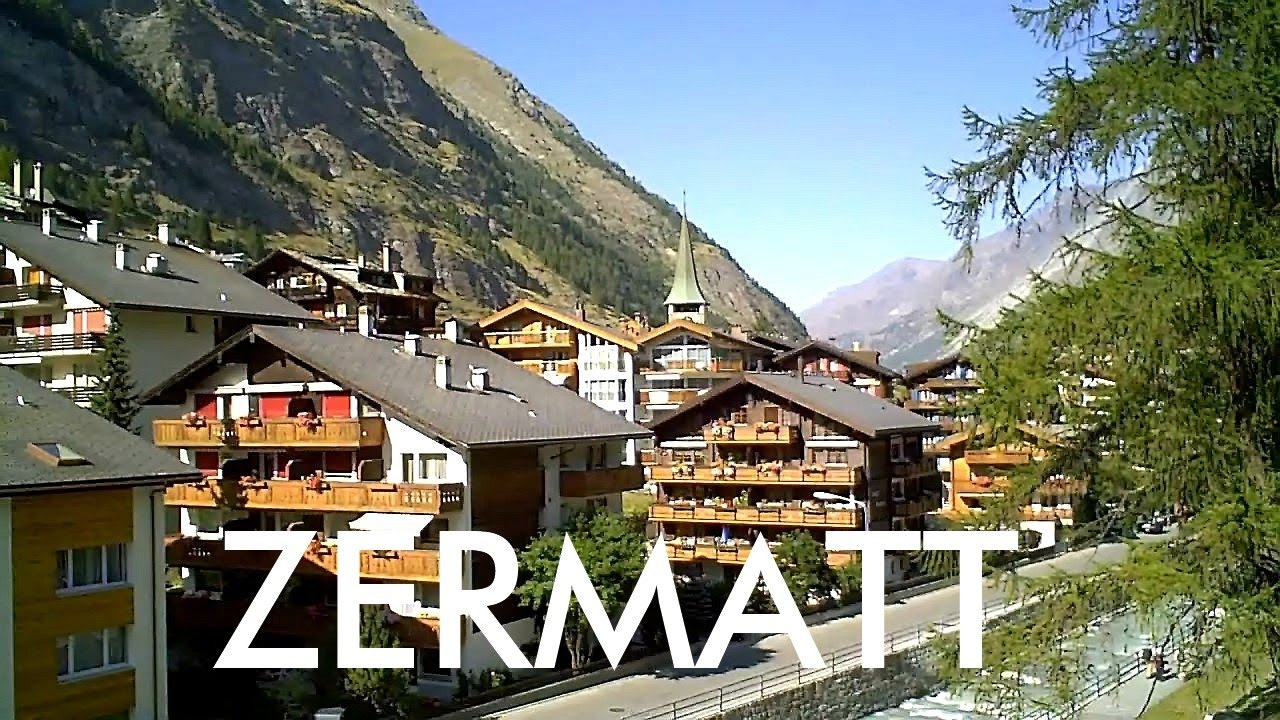 SWITZERLAND: Zermatt village [HD]