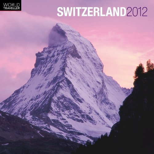 Switzerland 2012 Square 12x12 Wall Calendar (World Traveller) (Multili... - Switzerland 2012 Square 12x12 Wall Calendar World Traveller Multili