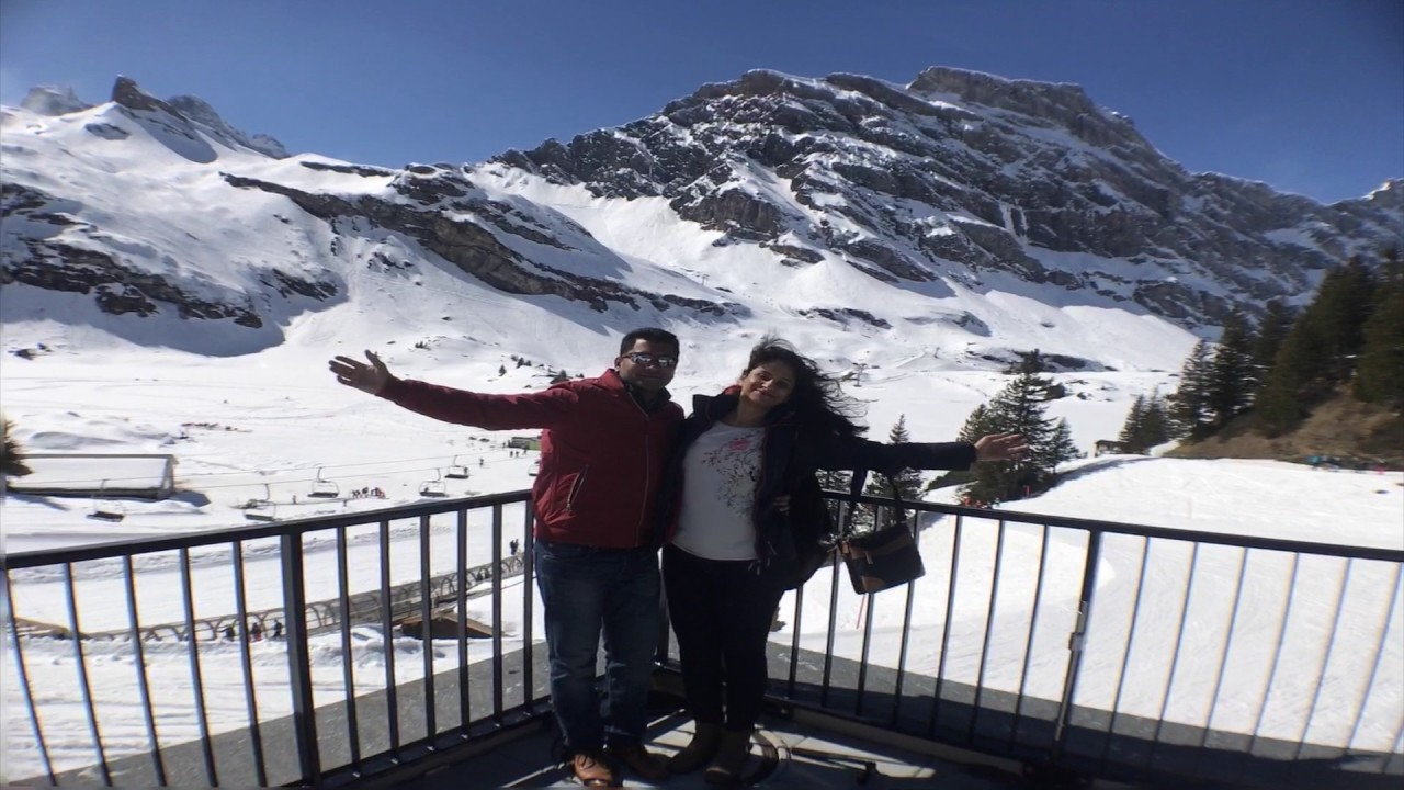 Switzerland 4 Days Trip - March 2017