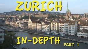 Zurich, Switzerland part 1: Old Town walking tour