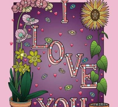 Adult Coloring Book of Love: A Romantic Coloring Book for Adults With ... - Adult Coloring Book of Love A Romantic Coloring Book for Adults With 386x350