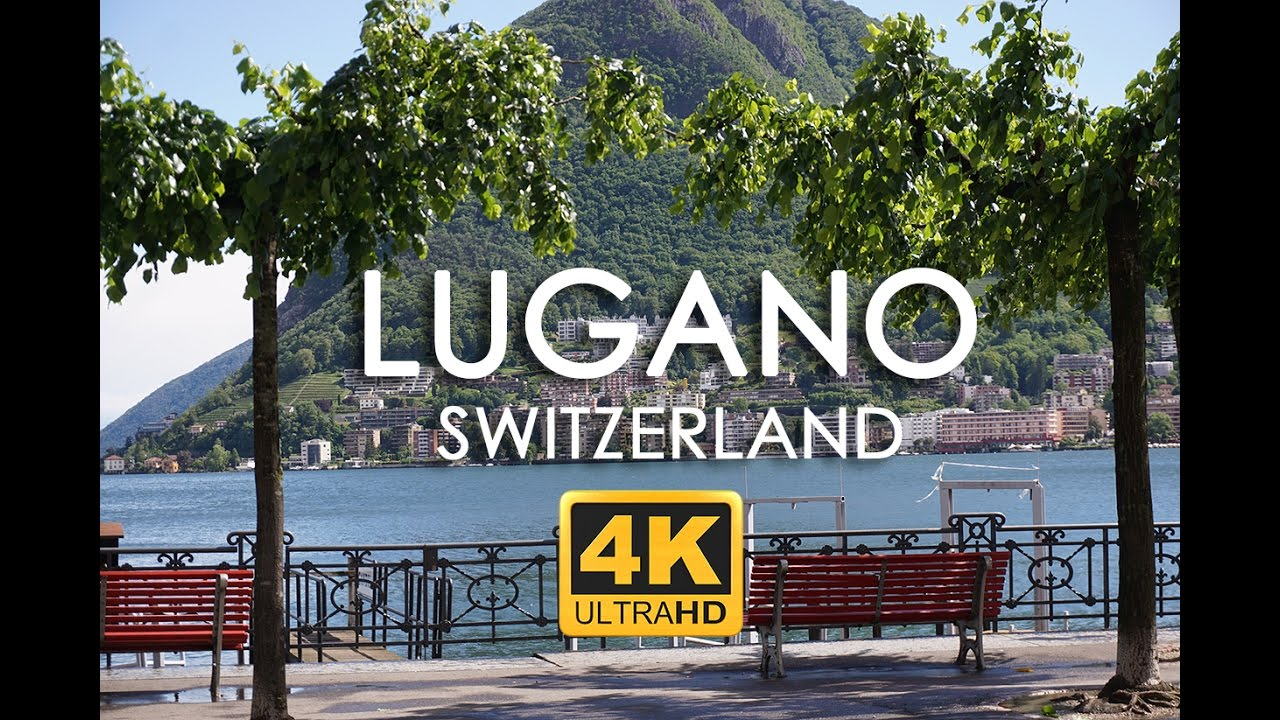 Lugano Switzerland Things to See in 4k