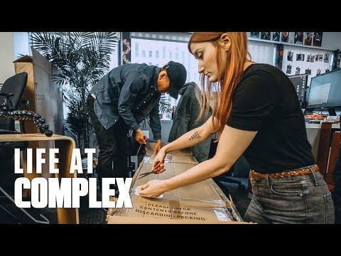 MASSIVE UNBOXING FROM SWITZERLAND! | #LIFEATCOMPLEX