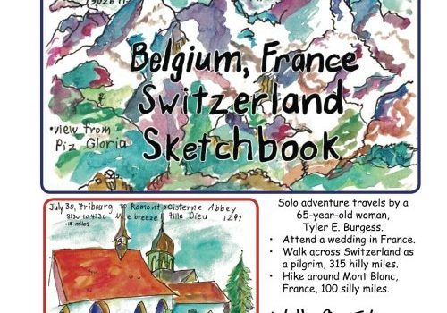 Belgium, France, Switzerland journey; a Sketchbook Diary 2016: Walk acros... - Belgium France Switzerland trip a Sketchbook Diary 2016 Walk acros 500x350
