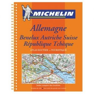 Michelin Road Atlas Germany Benelux Austria Switzerland Czech Republic - Michelin Road Atlas Germany Benelux Austria Switzerland Czech Republic 300x300