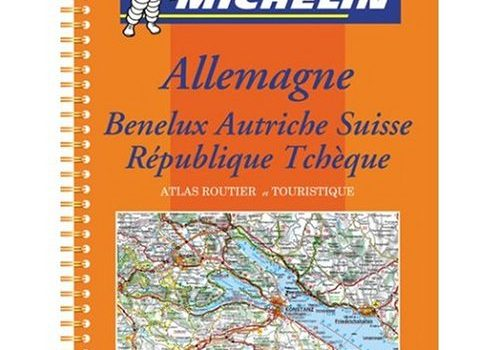 Michelin Road Atlas Germany Benelux Austria Switzerland Czech Republic - Michelin Road Atlas Germany Benelux Austria Switzerland Czech Republic 500x350