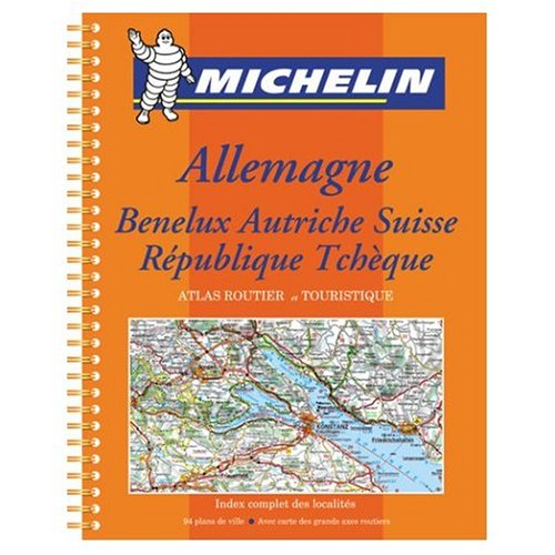 Michelin Road Atlas Germany Benelux Austria Switzerland Czech Republic - Michelin Road Atlas Germany Benelux Austria Switzerland Czech Republic