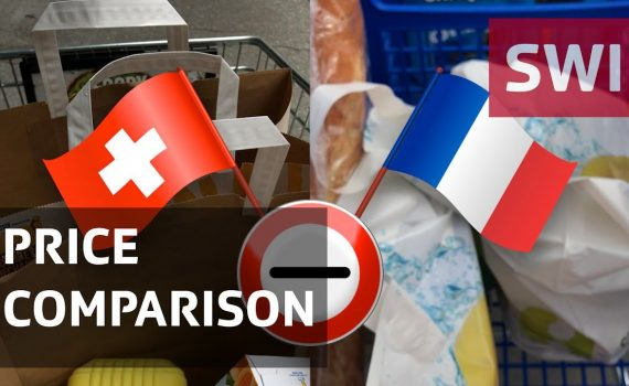 Switzerland vs France – the shopping basket price challenge