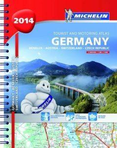 2014 Germany, Benelux, Austria, Switzerland, Czech Republic Road Atlas... - 2014 Germany Benelux Austria Switzerland Czech Republic Road Atlas 238x300