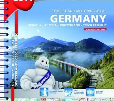2014 Germany, Benelux, Austria, Switzerland, Czech Republic Road Atlas... - 2014 Germany Benelux Austria Switzerland Czech Republic Road Atlas 396x350