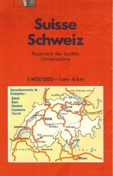Michelin Country Map: Switzerland (Michelin Main Road Maps) (French Ed... - Michelin Country Map Switzerland Michelin Main Road Maps French Ed 224x350