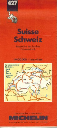 Michelin Country Map: Switzerland (Michelin Main Road Maps) (French Ed... - Michelin Country Map Switzerland Michelin Main Road Maps French Ed