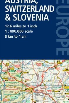 Road Map Austria, Switzerland & Slovenia (Road Map Europe) - Road Map Austria Switzerland Slovenia Road Map Europe 235x350