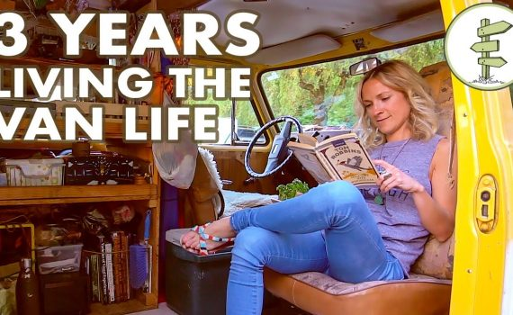 Van Life - Woman Living in a Van for 3 Years to Save Money & Travel th...