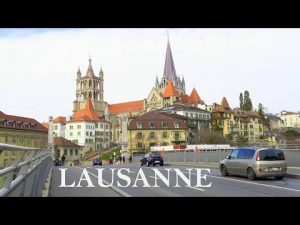 A Day in LAUSANNE / City Walk / Switzerland