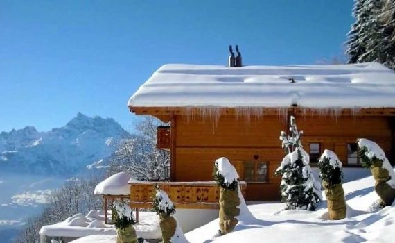 Luxury Chalet For Sale Villars Switzerland