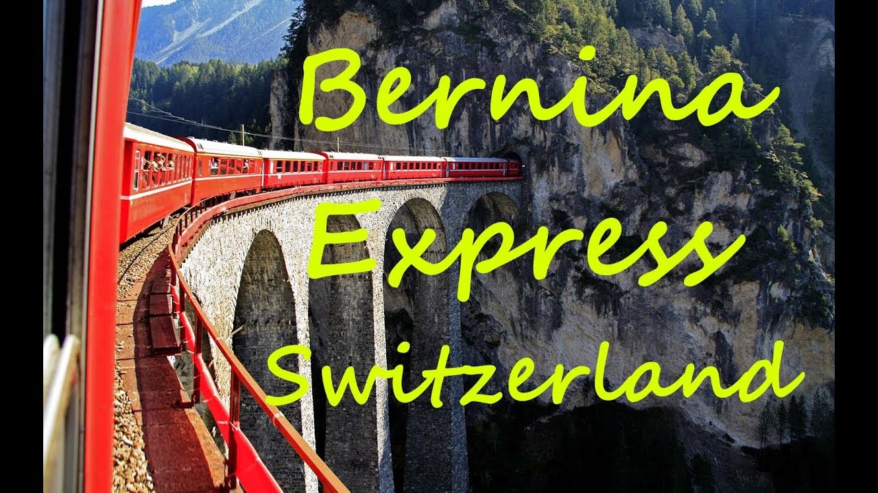 Switzerland Tourism | Bernina Express | Amazing Nature