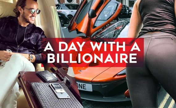A day with a BILLIONAIRE! Join Rich Kids of Instagram's Emir Bahadir a...