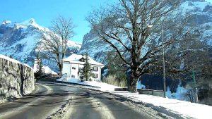 Switzerland 107 (Camera on board): Grindelwald (BE) in winter