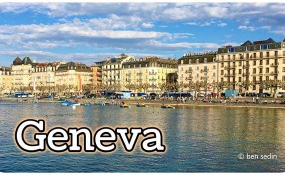 Geneva, Switzerland - travel video Full HD