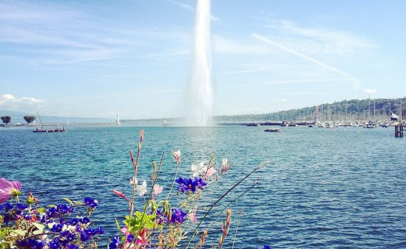 Lake Geneva Water-jet