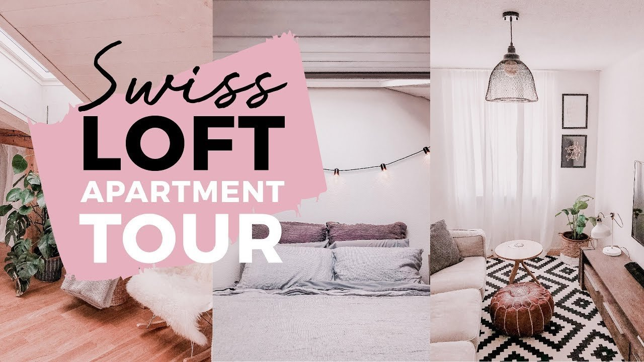 SWITZERLAND APARTMENT TOUR: Our Loft Minimalist/Boho Apartment