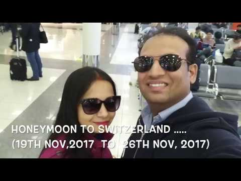 Honeymoon - Switzerland Trip