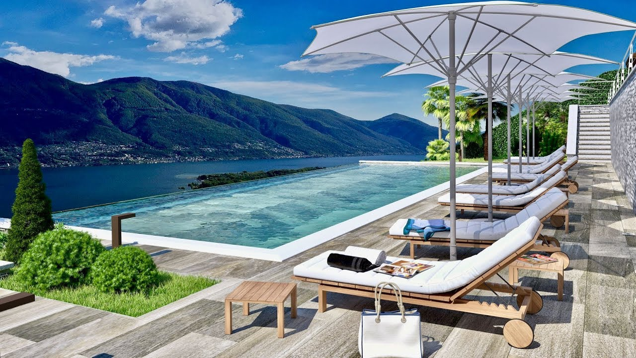Luxury apartments & penthouses in Minusio, Switzerland, for sale
