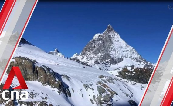 What it's like to ride a glass train through the Swiss Alps | CNA ...