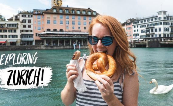 Zürich FIRST IMPRESSIONS! - Swiss Food, Epic Views & More! (Zürich...