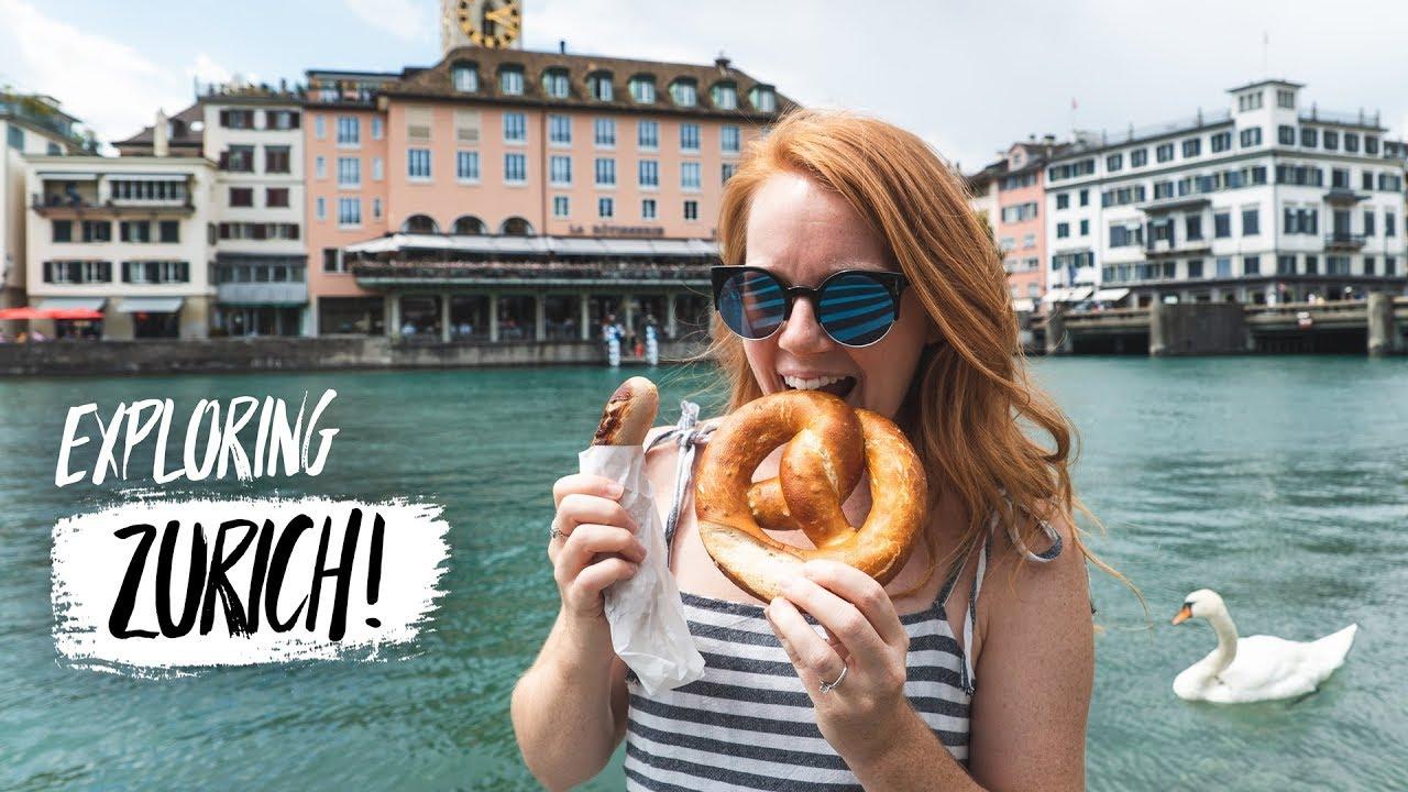 Zürich FIRST IMPRESSIONS! - Swiss Food, Epic Views & More! (Zürich...