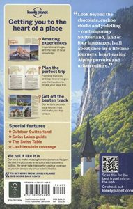 Lonely Planet Switzerland (Country Guide) - Lonely Planet Switzerland Country Guide 191x300