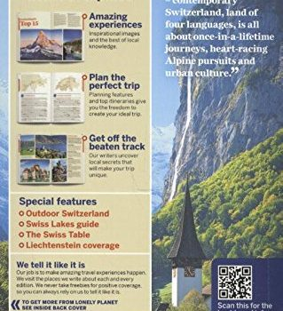 Lonely Planet Switzerland (Country Guide) - Lonely Planet Switzerland Country Guide 319x350