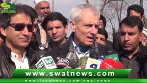 Switzerland ambassador and Tourism Minister Kp Visit Swat Historical P...