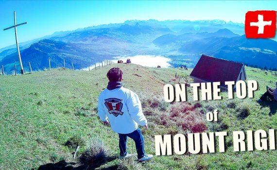 Visiting Mount Rigi | Switzerland Trip